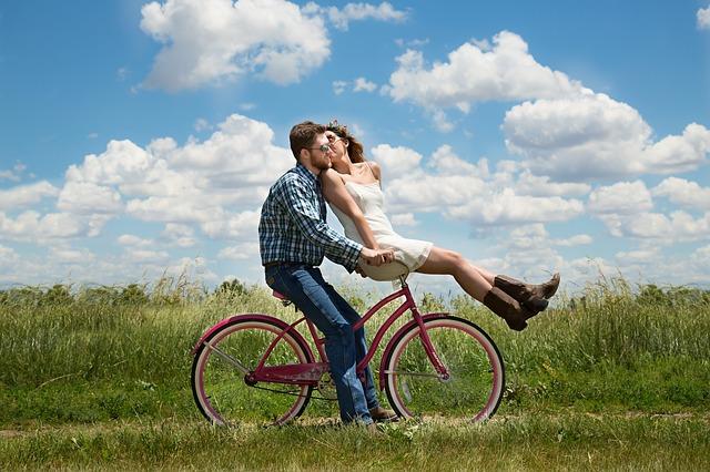 jízda na kole ve dvou