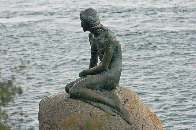 socha mořské panny