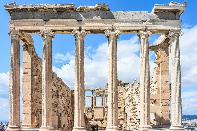 Stavba ze starého Řecka