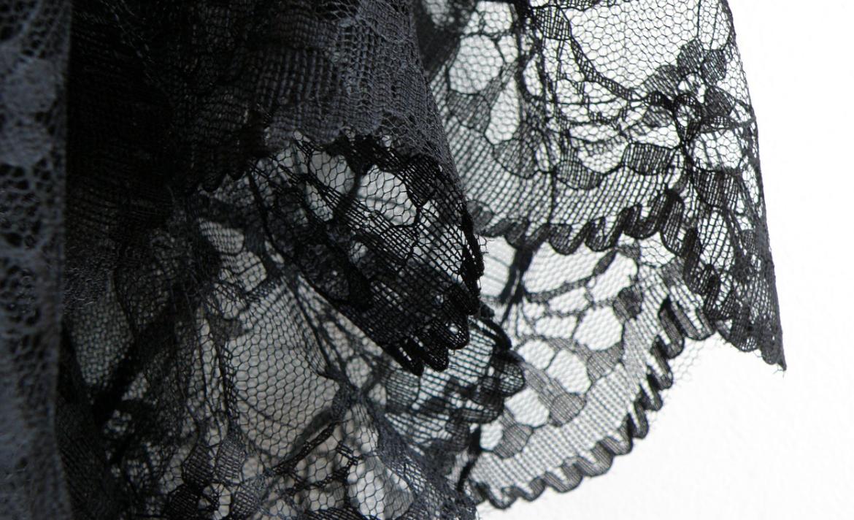 sukně s krajkou